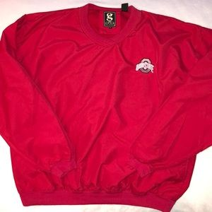 Ohio State pullover wind shirt jacket